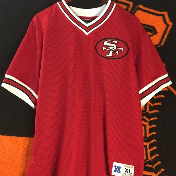 online store 4831a 8a535 49ers Mitchell & Ness jersey Size XL